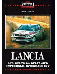LANCIA - 037 - DELTA S4 - DELTA 4WD - INTEGRALE - INTERGRALE  16V - PIERO CASUCCI - BOEK