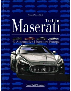 MASERATI ALL THE CARS 1926 - 2016 AUTOBOEK