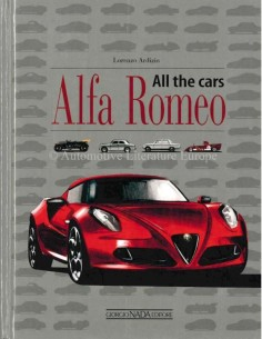 ALFA ROMEO ALL THE CARS 1910 - 2015 BOEK