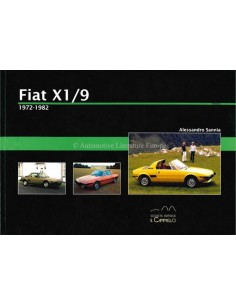 1972 - 1982 - FIAT X1/9 - HISTORICA - BÜCH - ALESSANDRO SANNIA