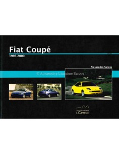 1993 - 2000 - FIAT COUPÉ - HISTORICA - BOEK - ALESSANDRO SANNIA