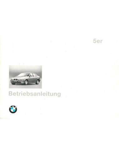 1996 BMW 5 SERIE INSTRUCTIEBOEKJE DUITS