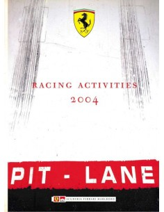 2004 FERRARI RACING ACTIVITIES JAHRBUCH ITALIENISCH / ENGLISCH