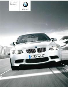 2008 BMW M3 COUPE SEDAN BROCHURE JAPANS