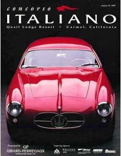 2000 CONCORSO ITALIANO MAGAZINE ENGLISH