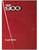1986 SAAB 900 BROCHURE FRENCH