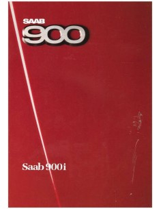 1986 SAAB 900 PROSPEKT FRANZÖSISCH