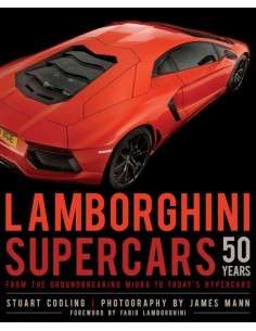 2015 LAMBORGHINI SUPERCARS 50 YEARS - STUART CODLING - BOOK ENGLISH