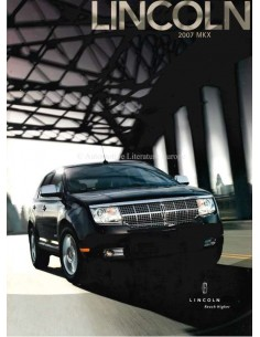 2007 LINCOLN MKX BROCHURE ENGLISH
