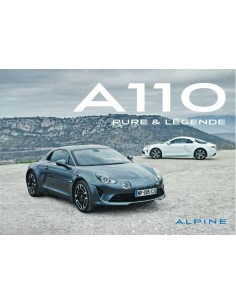 2018 ALPINE A110 PURE & LEGENDE BROCHURE GERMAN