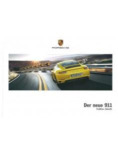 2017 PORSCHE 911 CARRERA / TARGA HARDBACK BROCHURE GERMAN