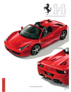 2011 THE OFFICIAL FERRARI MAGAZINE 14 ENGLISH