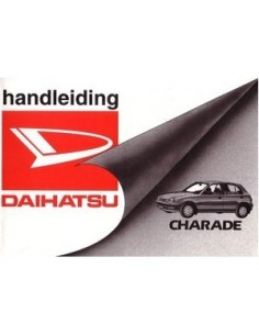 1997 DAIHATSU CHARADE INSTRUCTIEBOEKJE NEDERLANDS