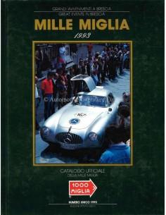 1993 MILLE MIGLIA HARDCOVER JAARBOEK ITALIAANS