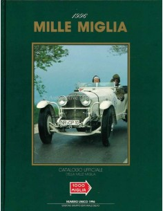 1996 MILLE MIGLIA HARDCOVER JAARBOEK ITALIAANS