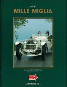 1996 MILLE MIGLIA HARDCOVER JAHRESKATALOG ITALIENISCH