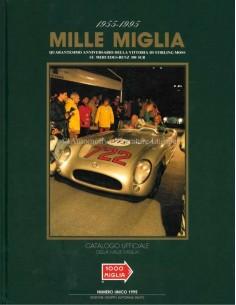 1995 MILLE MIGLIA JAHRESKATALOG HARDCOVER ITALIENISCH