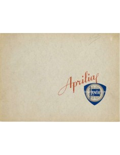 1938 LANCIA APRILIA BROCHURE FRANS