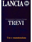 1984 LANCIA TREVI OWNERS MANUAL ITALIAN