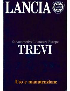 1984 LANCIA TREVI BETRIEBSANLEITUNG ENGLISCH