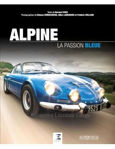 ALPINE - LA PASSION BLEUE - BUCH