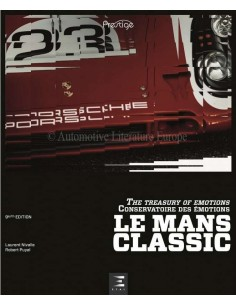 LE MANS CLASSIC- THE TREASURY OF EMOTIONS - BOOK - FRENCH / ENGLISH