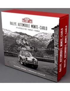 RALLYE AUTOMOBILE MONTE-CARLO PORSCHE 1952-1982 - BOOK