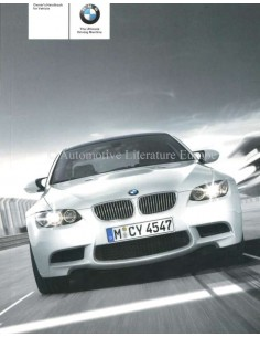 2007 BMW M3 COUPE OWNERS MANUAL ENGLISH