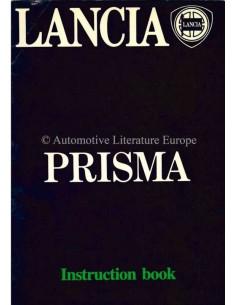 1983 LANCIA PRISMA BETRIEBSANLEITUNG ENGLISCH