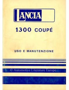 1977 LANCIA BETA 1300 COUPÉ OWNERS MANUAL ITALIAN