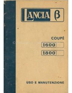 1974 LANCIA BETA COUPE BETRIEBSANLEITUNG ITALIENISCH