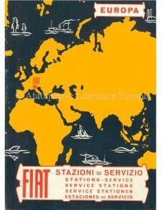 1966 FIAT SERVICE STATIONS EUROPE HANDBOOK