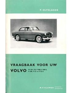 1956 - 1964 VOLVO PV544 P210 P1800 AMAZON REPARATURANLEITUNG NIEDERLÄNDISCH