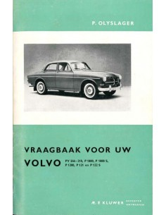 1956 - 1964 VOLVO PV544 P210 P1800 AMAZON WORKSHOP MANUAL DUTCH