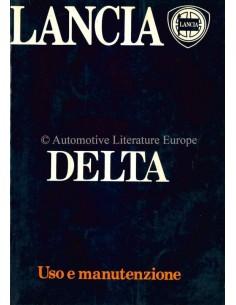 1985 LANCIA DELTA OWNERS MANUAL ITALIAN