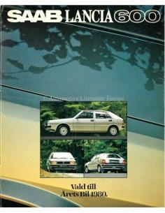 1980 SAAB LANCIA 600 BROCHURE ZWEEDS