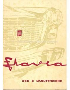 1965 LANCIA FLAVIA LIMOUSINE BETRIEBSANLEITUNG ITALIENISCH