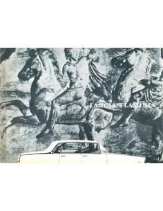 1961 LANCIA FLAMINIA SALOON BROCHURE ITALIAN