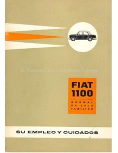1961 FIAT 1100 BETRIEBSANLEITUNG SPANISCH