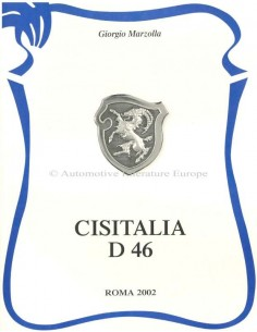 CISITALIA D 46 - GIORGIO MARZOLLA - BOEK