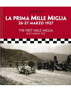 THE FIRST MILLE MIGLIA - CARLO DOLCINI - BOEK