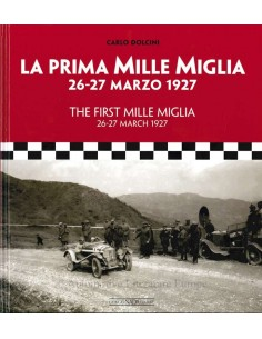 THE FIRST MILLE MIGLIA - CARLO DOLCINI - BOOK