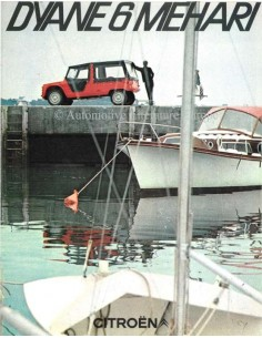 1969 CITROEN DYANE 6 MEHARI BROCHURE DUTCH