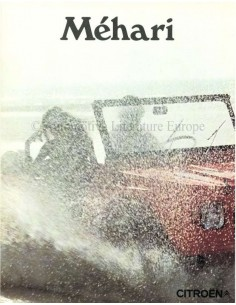 1972 CITROEN MEHARI BROCHURE DUTCH
