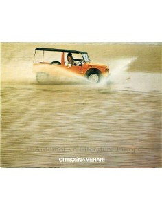 1974 CITROEN MEHARI BROCHURE DUTCH