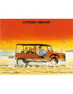 1975 CITROEN MEHARI BROCHURE DUTCH