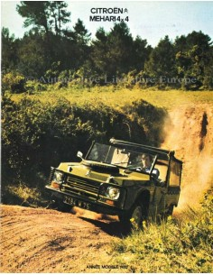 1979 CITROEN MEHARI 4X4 BROCHURE FRENCH