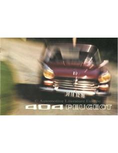 1973 PEUGEOT 404 PROSPEKT NIEDERLANDISCH
