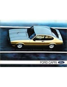 1979 FORD CAPRI BROCHURE GERMAN