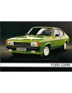1978 FORD CAPRI BROCHURE NEDERLANDS